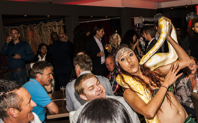 Hot in the city – Scala hosts Tropical Temptations themed party