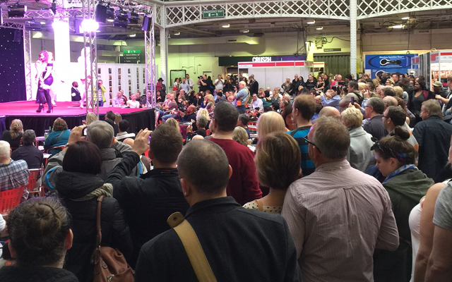 Promising start for first UK Sexpo