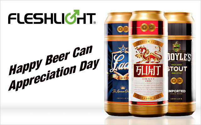 A novel way to celebrate Beer Can Appreciation Day