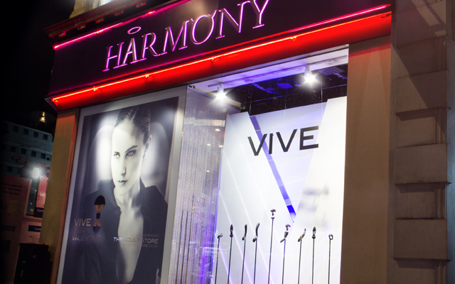 Vive hits Oxford Street