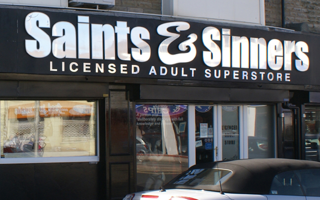 Is this the UK's first 'licensed' licensed adult store?