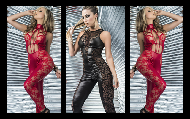 Paws for effect: sexy new catsuits from Mapalé