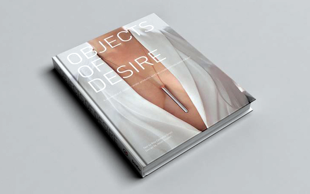 A coffee table book named Desire