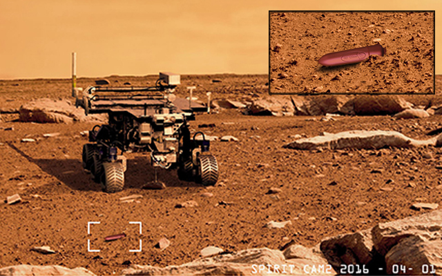 Life on Mars: vibe discovered on planet's surface