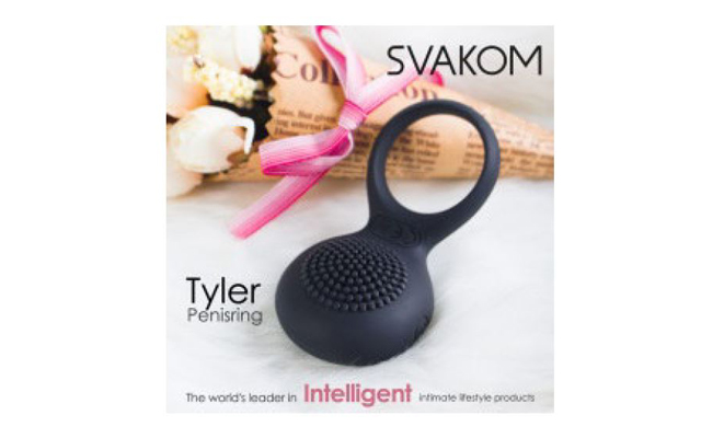 Tyler mail: Svakom's vibrating cock ring now available