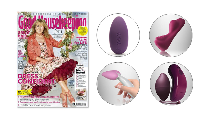 Lovehoney and Rocks-Off star in Good Housekeeping sex toy survey