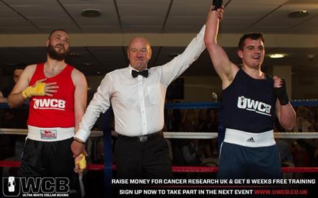Boxing day: Alterego man raises over £800 for Cancer Research UK