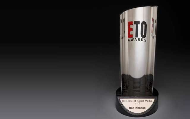 Doc Johnson scoops ETO Best Use of Social Media Award