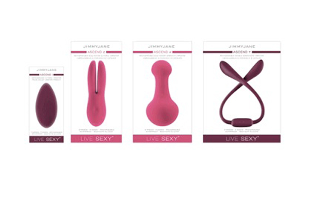Jimmyjane unveils Ascend, four new additions to its Live Sexy line