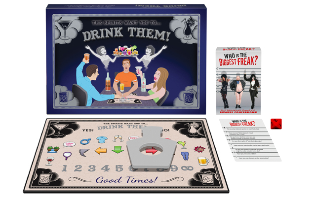That's the spirit: Kheper Games introduces two new drinking games