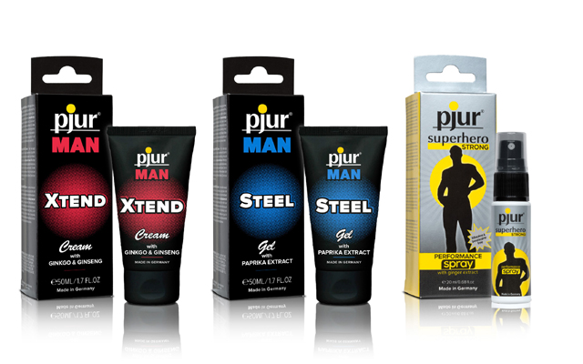 Men only: Pjur introduces three new products for men