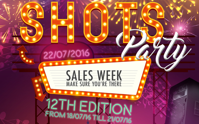 Showbiz gossip: Shots to reveal three new brands during annual Sales Week
