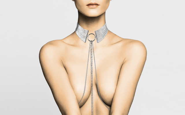 BDSM-inspired jewellery now available in silver