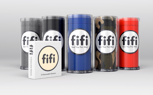 "Introducing Fifi: ""a new disposable category of sex toys for men"""