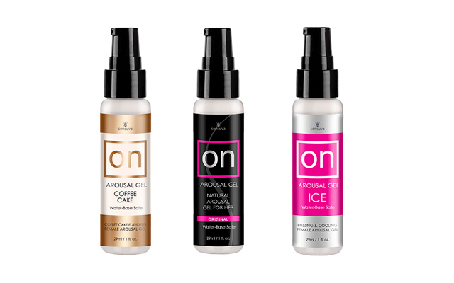 On and On and On: Sensuva Arousal Gel now available in three variants