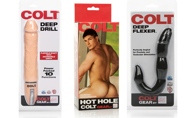 More man-sized releases from Colt and CalExotics