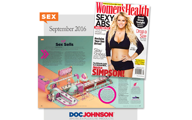 Doctor feels good: Doc Johnson stars in Women's Health magazine
