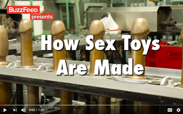 'How Sex Toys Are Made' at Doc Johnson goes viral