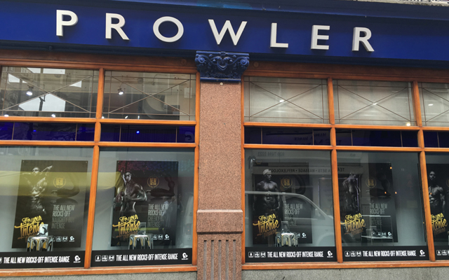 Look through any window: Prowler Soho hosts Rocks-Off