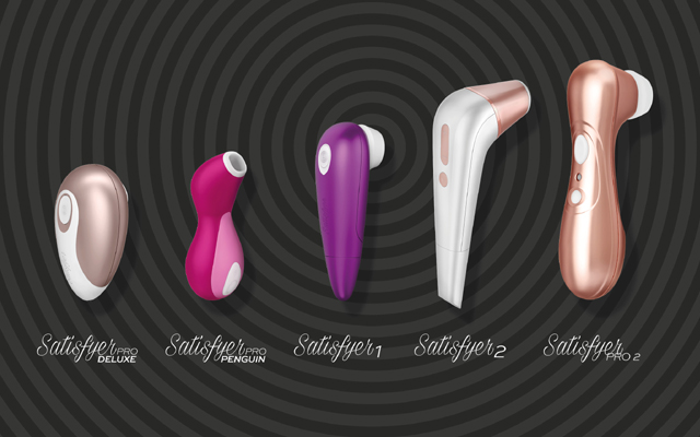 Customer satisfaction: four new Satisfyers due