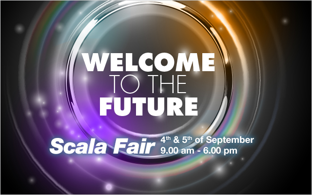 Back to the future at September's Scala Fair