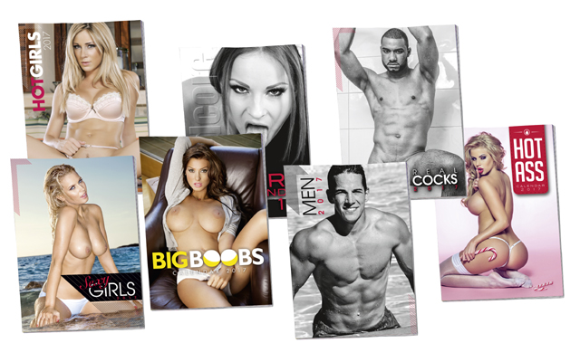 Calendar Girls (and Boys) now available from Orion