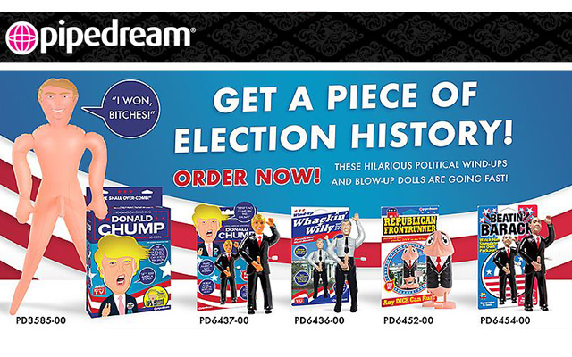 Election enhancers from Pipedream