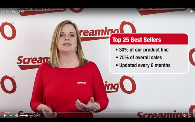 Screaming O offers new training videos