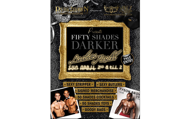Coming soon – Fifty Shades Darker: The Party, hosted by Vibez Adult Boutique