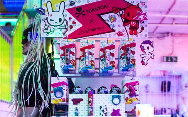 Tokidoki X stars at Cyberdog show