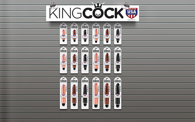 Long live the King! Pipedream launches King Cock Vibrating Stiffies