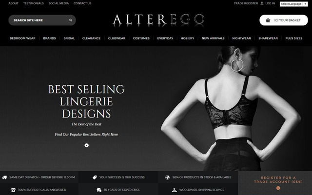 Second site: Alterego's online home gets major upgrade