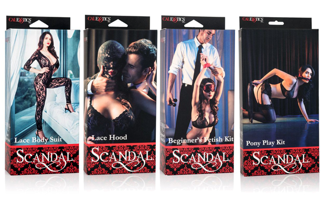 CalExotics adds sensory deprivation and role-play lines to Scandal collection