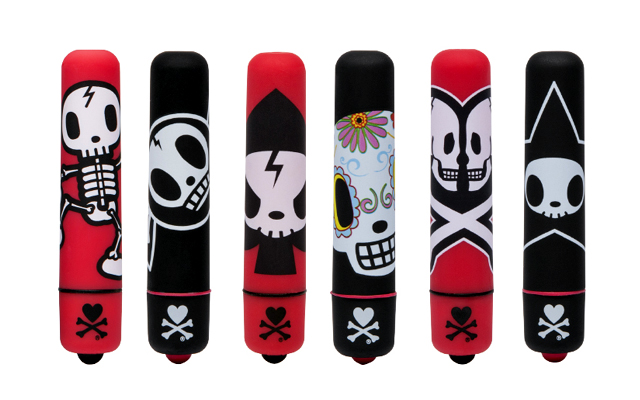 Dead sexy: new Tokidoki X bullets designed for Halloween