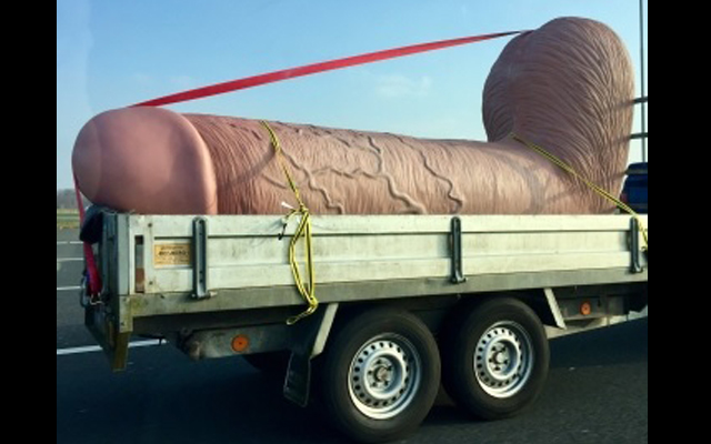 Now *that's* a strap-on: Pipedream's King Cock in transit goes viral - again