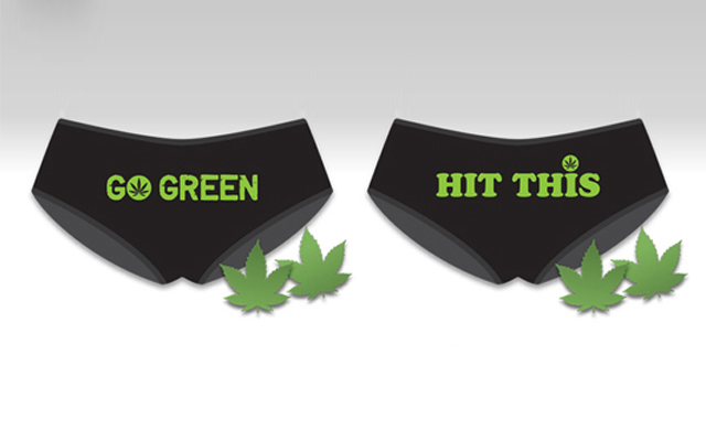 Pot luck: underwear that's got weed on