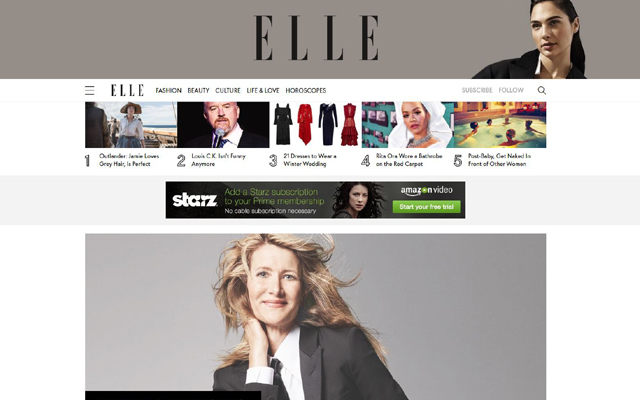 Satisfyer to star in Elle USA