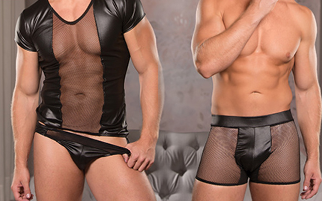 Allure lingerie for men now available at Scala