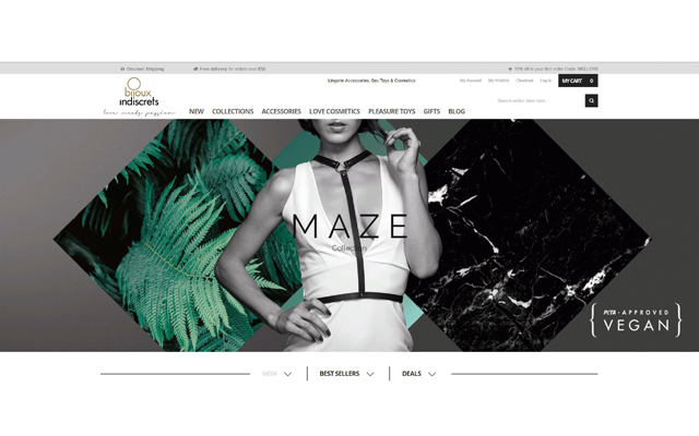 Bijoux Indiscrets launches dedicated UK website