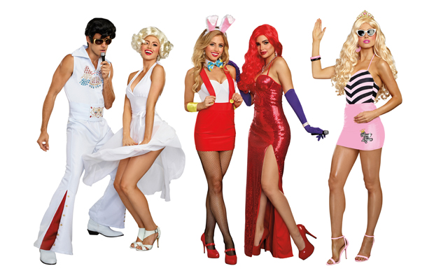 Coming soon: the 2018 Dreamgirl Costume Collection