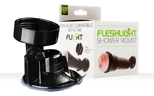 Shower power: Fleshlight Shower Mount back in stock