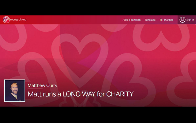 Lovehoney's Matt Curry to run London Marathon for Terrance Higgins Trust