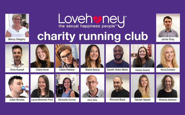 Lovehoney's new charity running club takes to the streets this weekend