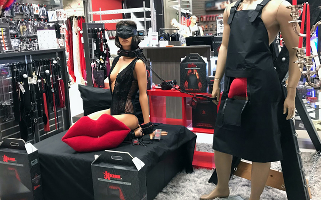 Doc Johnson debuts immersive Kink retail display