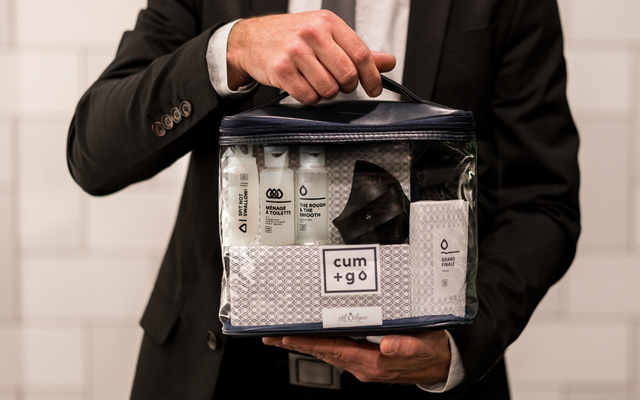 Travel news just in: Hot Octopuss unveils Cum+Go kit for stressed out men