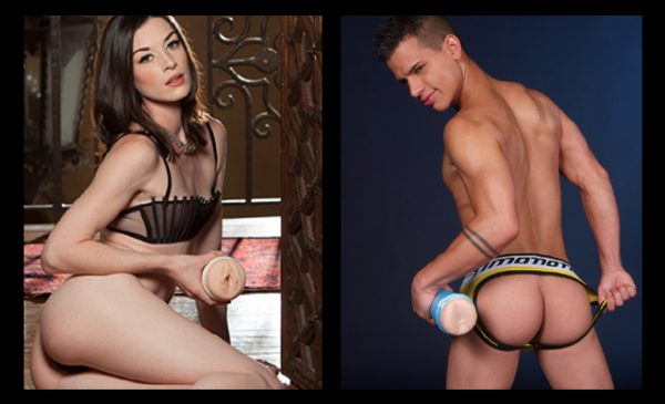 Fleshlight unveils new Stoya and Brent Everett models