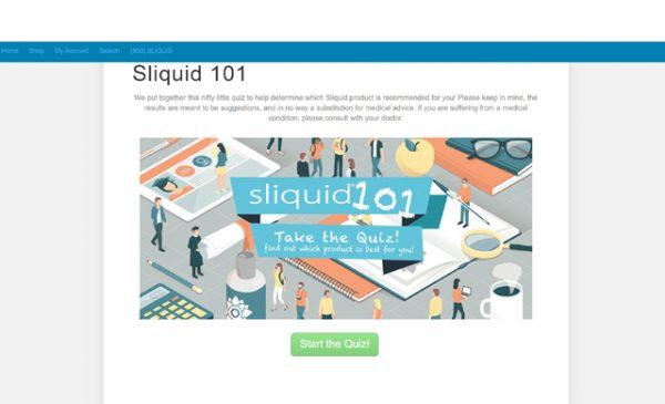 Sliquid unveils online marketing and educational campaign