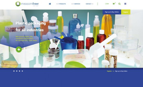 Packaging specialists Measom Freer launches new website
