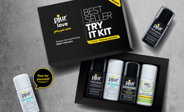 Pjur debuts free Sample Kits