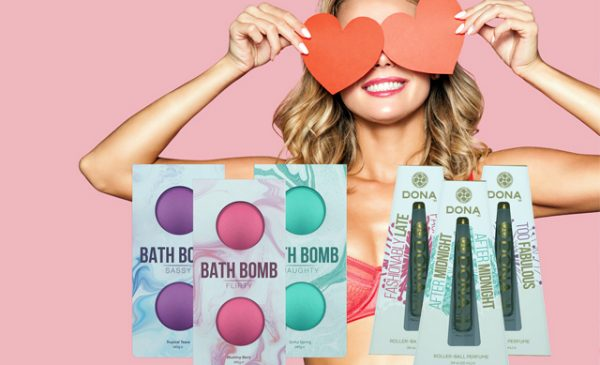 Free Dona products with System Jo Valentine promotion